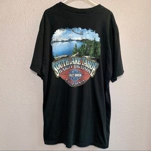 Harley Davidson T-shirt Lake Tahoe California